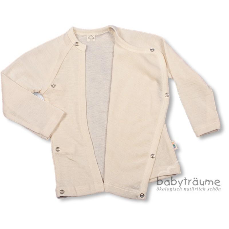 0a65d8458e29ce Baby-Wickelshirt aus edlem Wolle/Seide-Mix- 70% Wolle/30% Seide, als  Unterhemd oder Sommerpulli