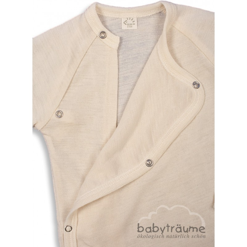 1bff1a89ab Baby-Wickelshirt aus edlem Wolle/Seide-Mix- 70% Wolle/30% Seide, als, 24,49  €