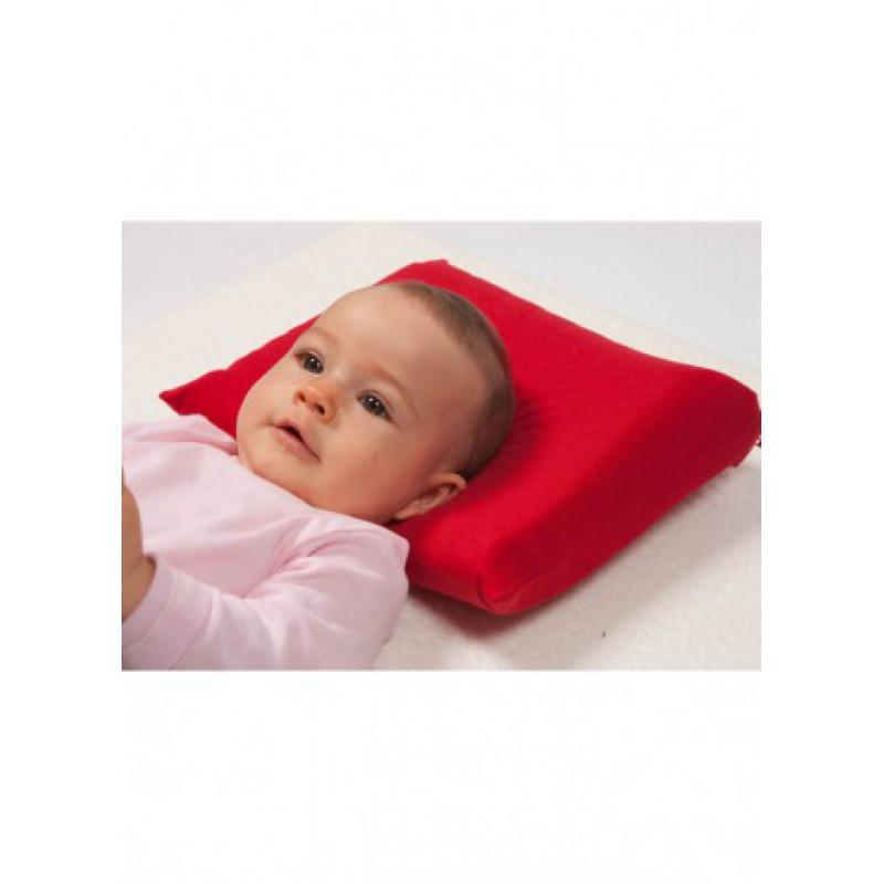 babykopfkissen latex mit kopfmulde inkl 1 bezug 100 baumwolle 0. Black Bedroom Furniture Sets. Home Design Ideas