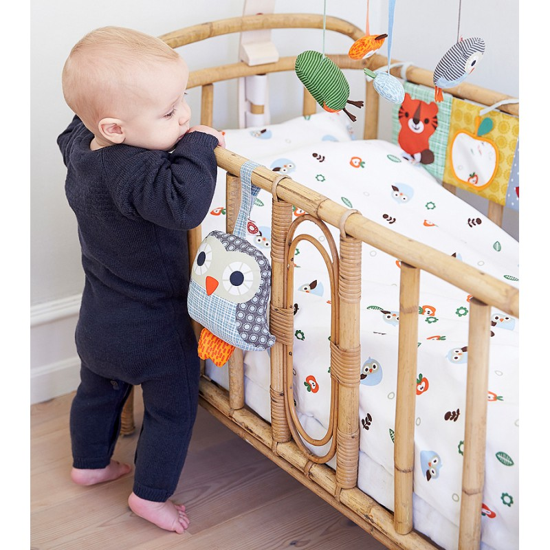 babys stoff bildergalerie mit knisterblume f rs gitter wilde bio tie 34 99. Black Bedroom Furniture Sets. Home Design Ideas