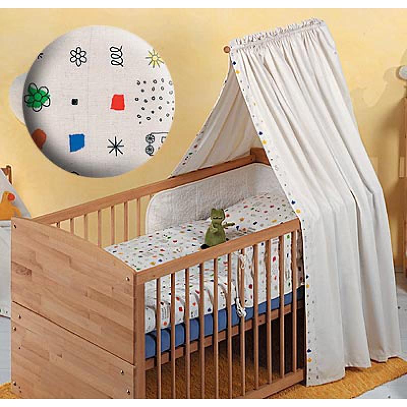 betthimmel 100 baumwolle kba 63 90. Black Bedroom Furniture Sets. Home Design Ideas