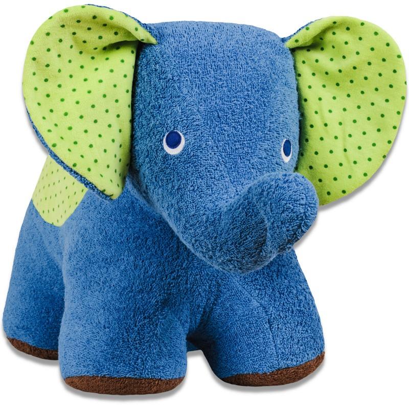 Elefant quot efie blue in xl außen baumwolle kba