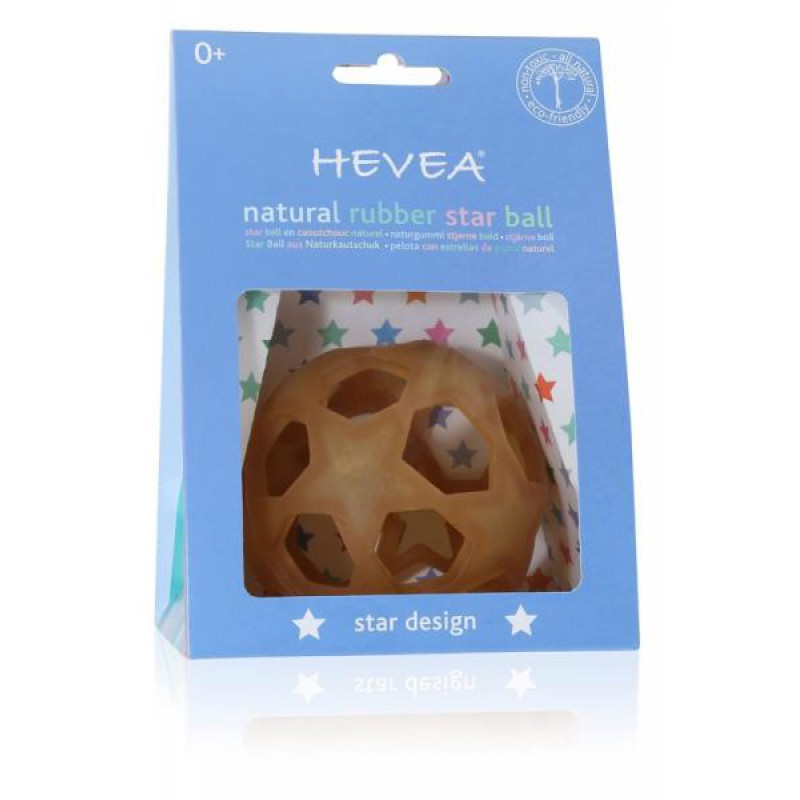 naturkautschuk sternen ball naturkautschuk ab geburt 1. Black Bedroom Furniture Sets. Home Design Ideas