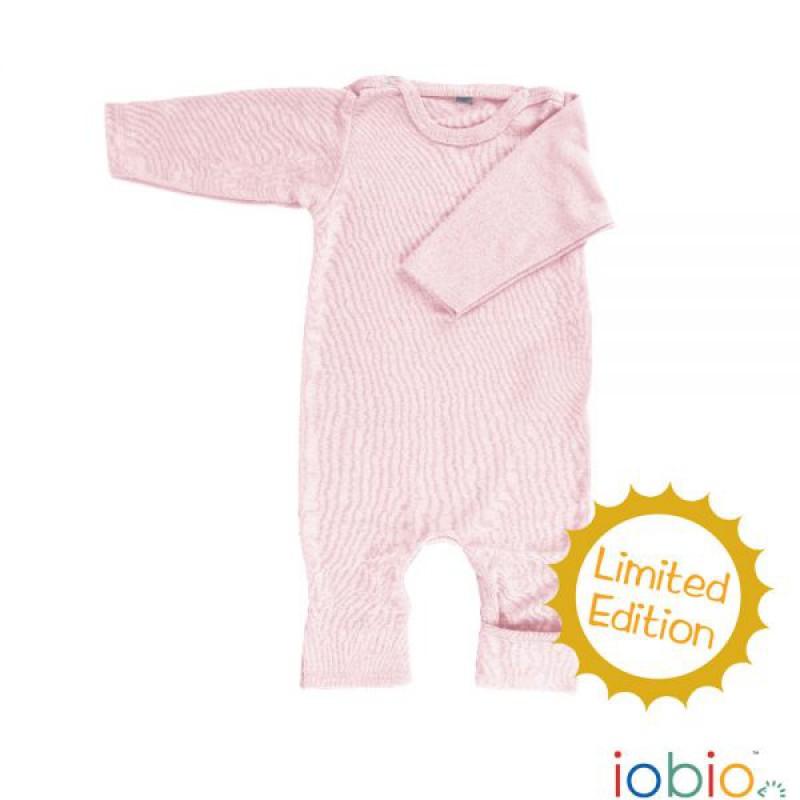 overall schlafanzug rosa bzw ski body mit umschlag am f. Black Bedroom Furniture Sets. Home Design Ideas