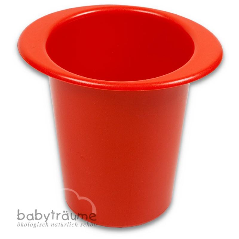 sandspielzeug eimer rot einzeln aus bio kunststoff 5 90. Black Bedroom Furniture Sets. Home Design Ideas