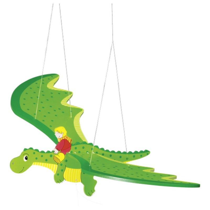 Schwing Drache   Tolle Drachen Deko Im Kinderzimmer Oder Babyzimmer   Statt  Mobile?