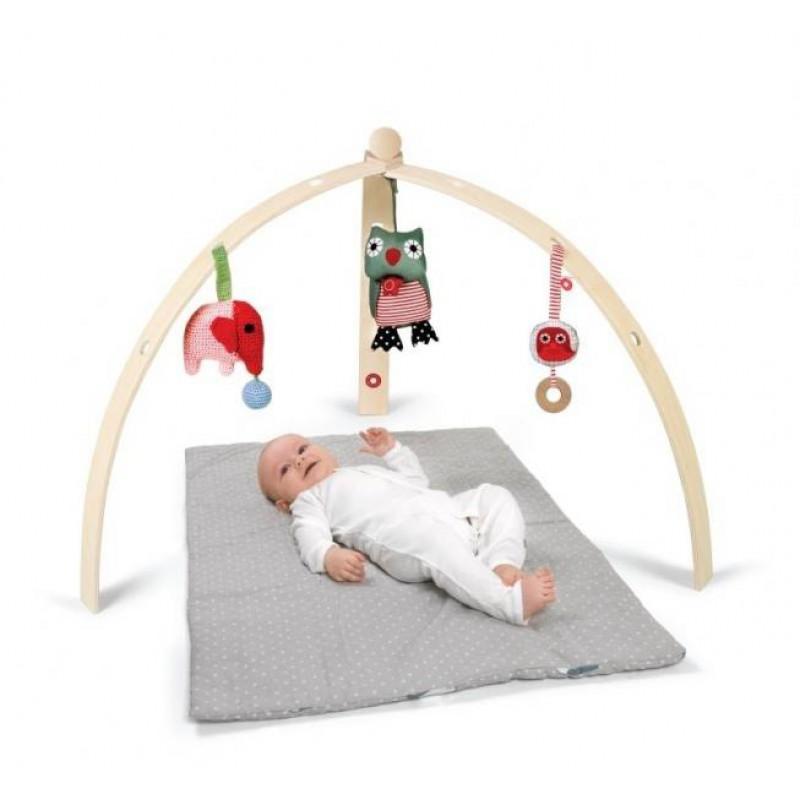 spielbogen baby spyder natur activity bogen aus birkensp. Black Bedroom Furniture Sets. Home Design Ideas