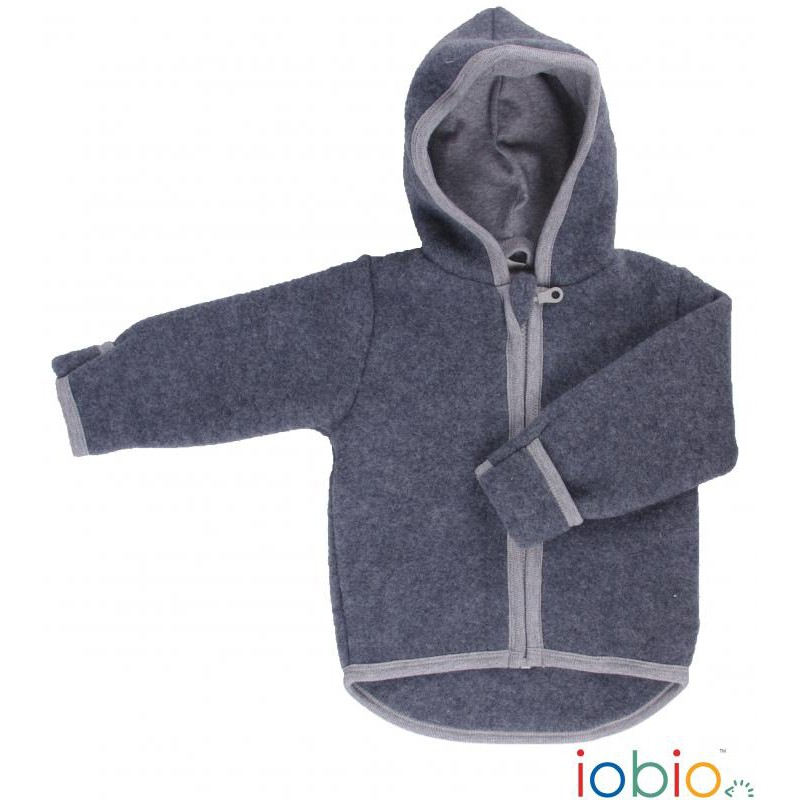 wollfleece jacke kinder 122