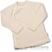 Baby-Wickelshirt aus edlem Wolle/Seide-Mix- 70% Wolle/30%...