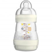 MAM Anti-Colic neutral, Tee/Muttermilch, 0+ Monate, 160ml, inkl. Flaschensauger, Silikon neutral