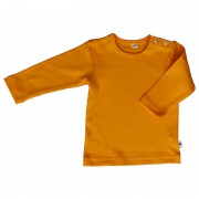 Sweatshirt, 100% Baumwolle (kbA), gelb (orange)