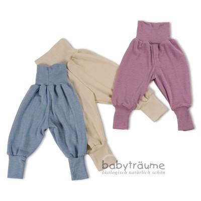watch 7ae2a f0ac2 Babyhose aus Wolle/Seide - auch als Unterziehhose 70% Wolle= ( kbT), 30%  Seide, Lieferumfang: 1 Hose