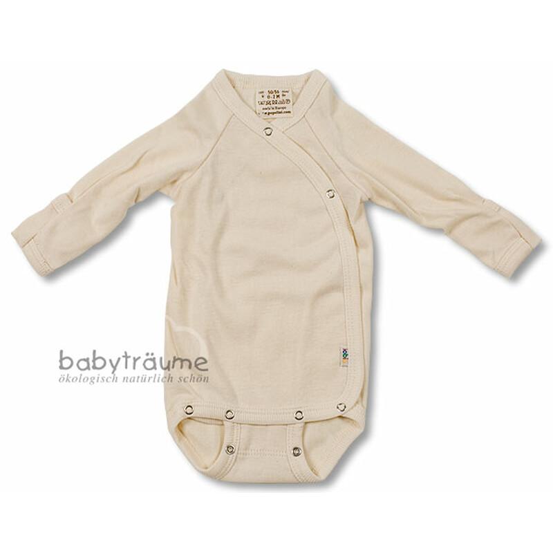 Gr 100/% Baumwolle KBA 50//56-62//68 Engel Baby Wickelbody Langarm