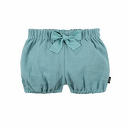 Pump-Shorts minty ice Mull - pure pure, 100% Baumwolle (kbA)
