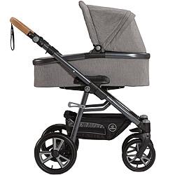 Naturkind-Kinderwagen Lux mit Babykorb