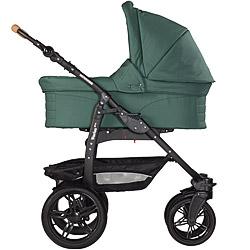 Naturkind-Kinderwagen Varius Pro mit Babykorb