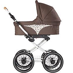 Naturkind-Kinderwagen Vita mit Babykorb